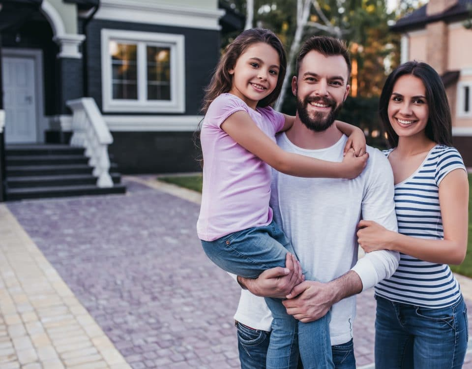 Family using the homestead exemption